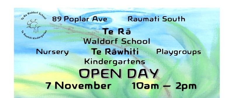 Te Ra Waldorf School, Te Rawhiti Kindergarten Open Day