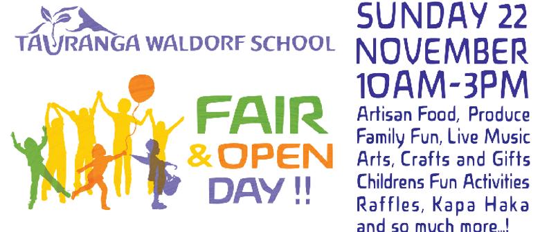 Tauranga Waldorf School Fair and Open Day