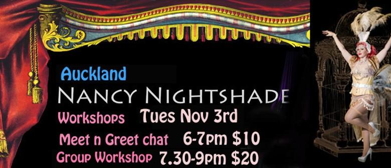 Burlesque Workshop with Nancy Nightshade