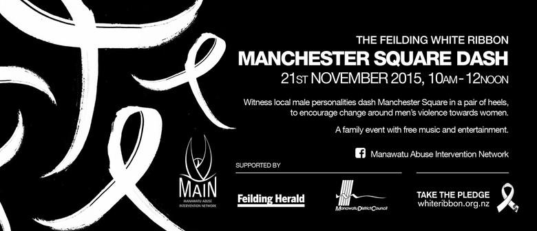 White Ribbon Manchester Square Dash