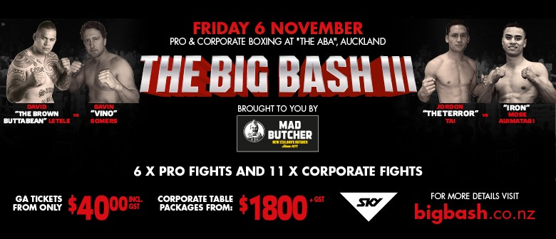 The Big Bash III