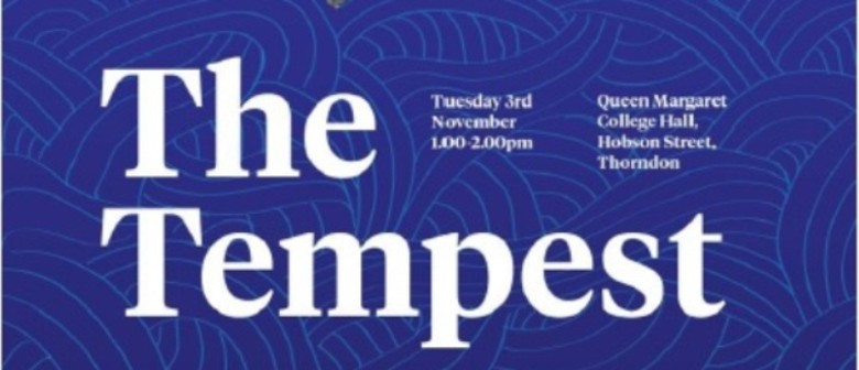 SGCNZ Primarily Playing with Shakespeare - The Tempest
