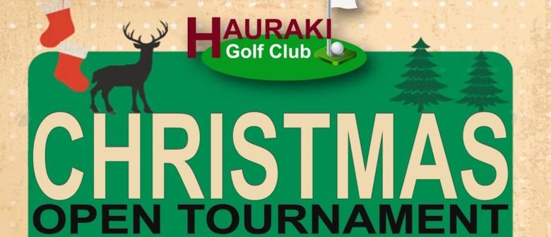Christmas 9 Hole Golf Tournament - Men & Ladies