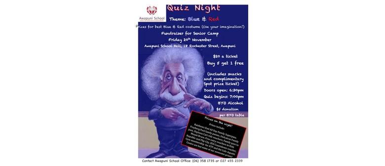 Awapuni Primary School Quiz Night