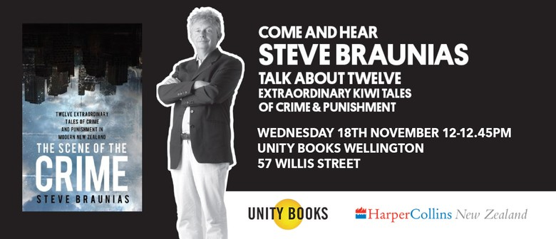 Lunchtime Event | The Scene of the Crime by Steve Braunias