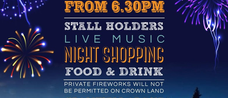 Cromwell Street Party, Market and Fireworks Night
