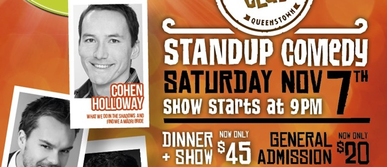 Stand-Up Comedy Ft. Cohen Holoway
