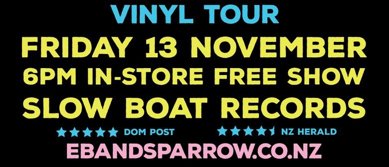 Eb and Sparrow Sun Son Vinyl Release Tour