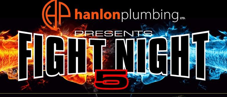 Shane Cameron Promotions 'Hanlon Plumbing Fight Night 5'