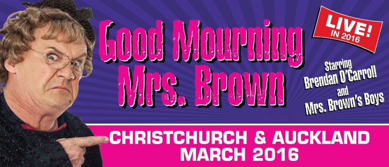 Mrs Brown's Boys: Good Mourning Mrs Brown