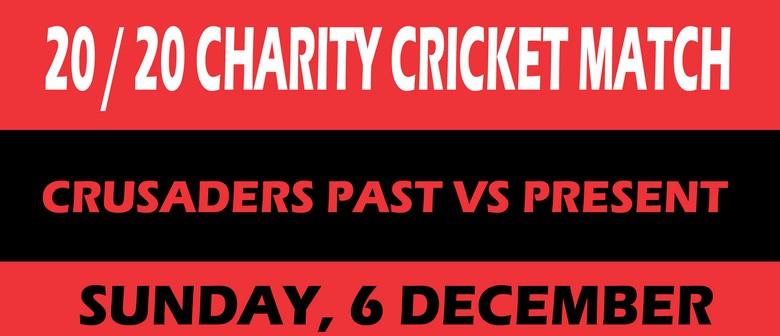 Cystic Fibrosis- Crusaders Charity Cricket Past vs Present