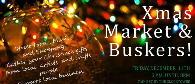Xmas Market and Buskers