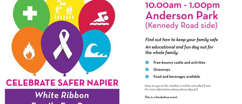 Celebrate Safer Napier: White Ribbon Family Fun Day - Napier