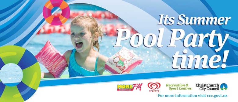 Summer Pool Party: Opening of Te Hāpua: Halswell Centre
