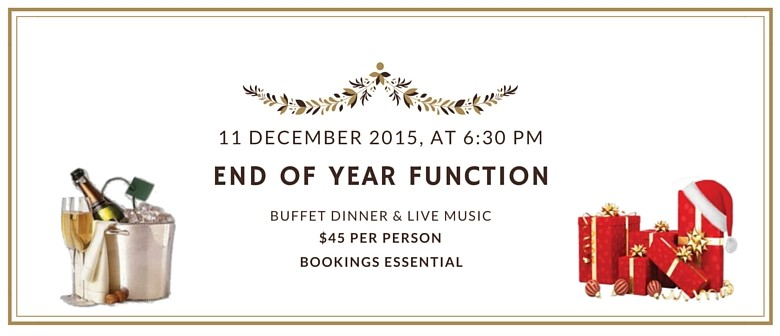 End of Year Christmas Dinner Buffet