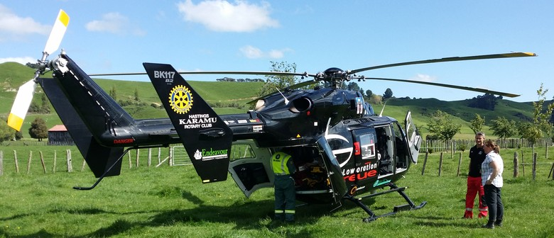 Hawke's Bay Rescue Helicopter Open Day