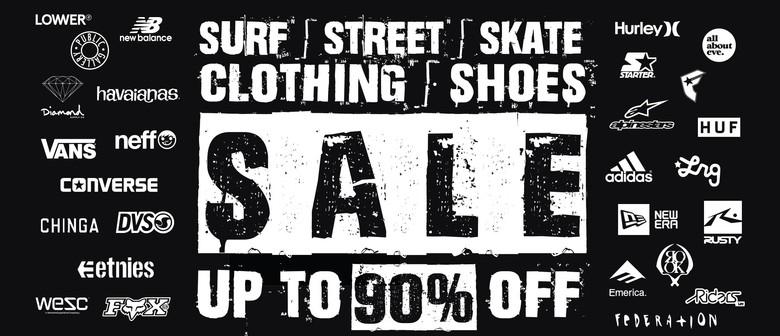 Surf | Street | Skate Clothing & Shoes Pop Up Sale