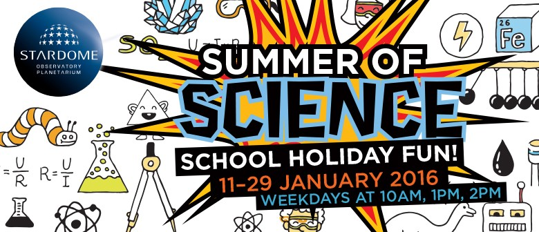 Summer of Science School Holiday Fun