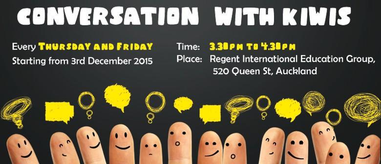 'Conversation with Kiwis' - English Class