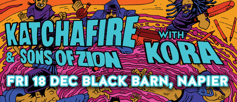 Katchafire and Sons of Zion with Kora - This Friday