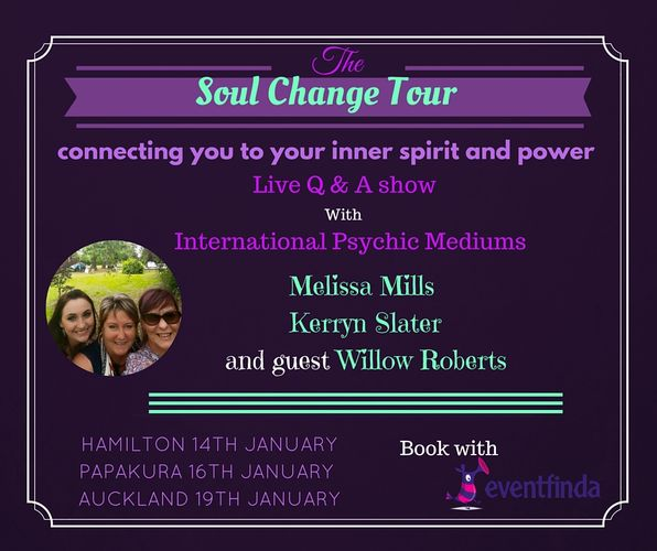 Melissa mills international psychic medium auckland