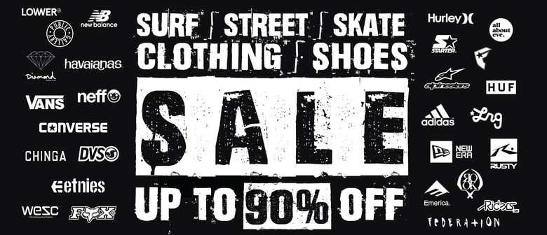 Surf, Street, Skate Clothing & Shoes Xmas & Boxing Day Sale