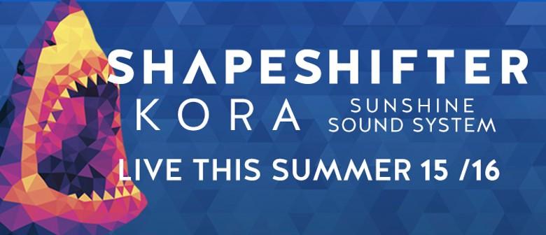 Shapeshifter x Kora x Sunshine Sound System This Sunday