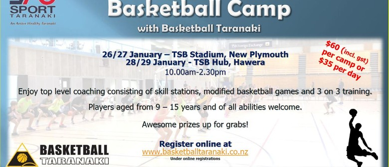 Summer Holiday Hoops Basketball Camp
