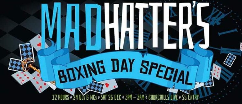 Mad Hatters Boxing Day Special