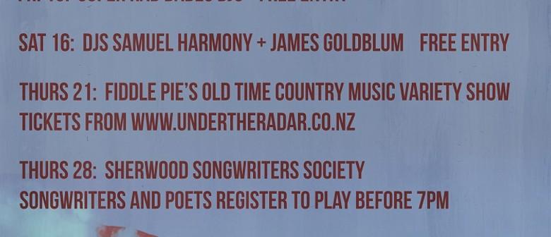 DJs Samuel Harmony and James Goldblum