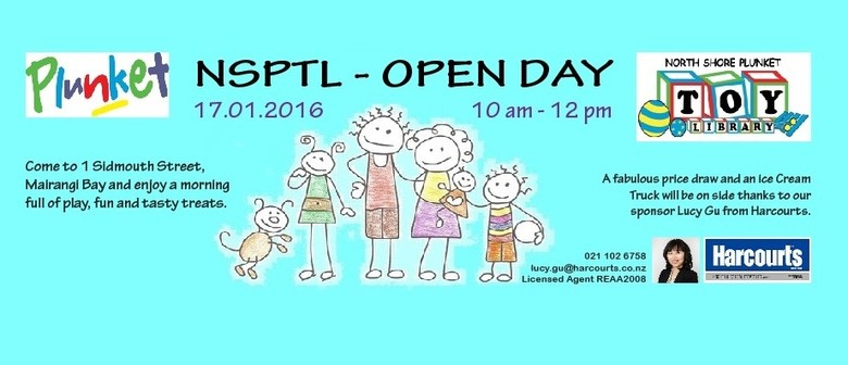 North Shore Plunket Toy Library - Open Day Family Event