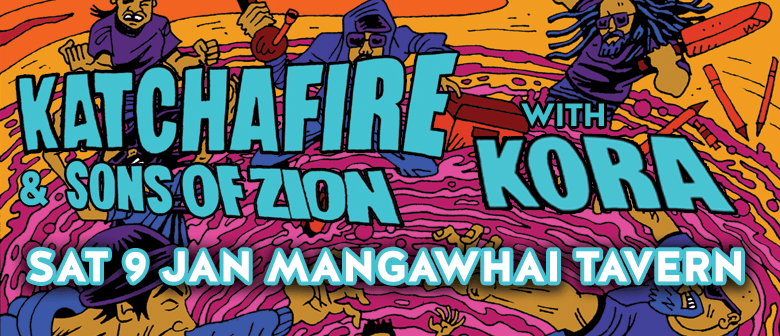Katchafire and Sons of Zion with Kora SOLD OUT