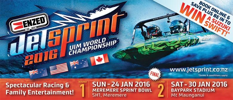 ENZED 2016 UIM Jetsprint World Championship - FINAL