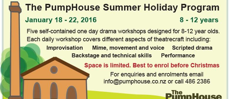 The PumpHouse Theatre Summer Holidays Drama Programme