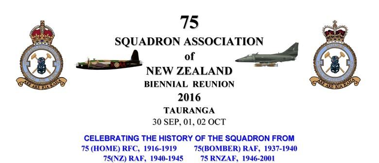 75 Squadron RAF/RNZAF Assn of NZ, Reunion 2016