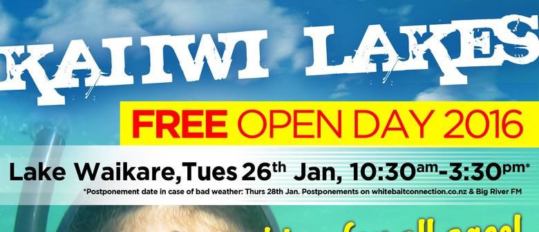 Kai Iwi Lakes Open Day