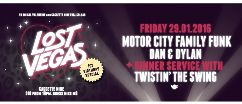 Lost Vegas 1st Birthday Feat Motor City Family Funk