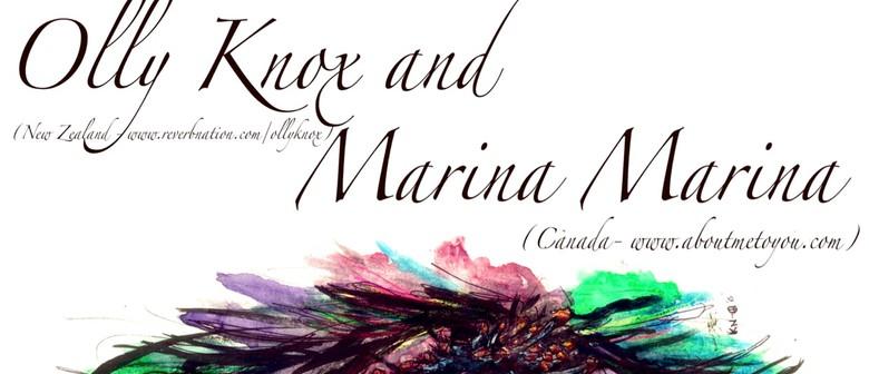 Olly Knox and Marina Marina