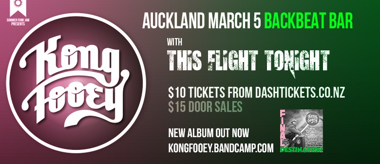 Kong Fooey Summer Tour with This Flight Tonight