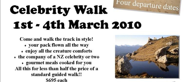 Celebrity Walk Week on the Tuatapere Hump Ridge Track