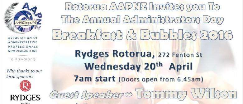 Admin Professionals Day - Bubbles & Breakfast