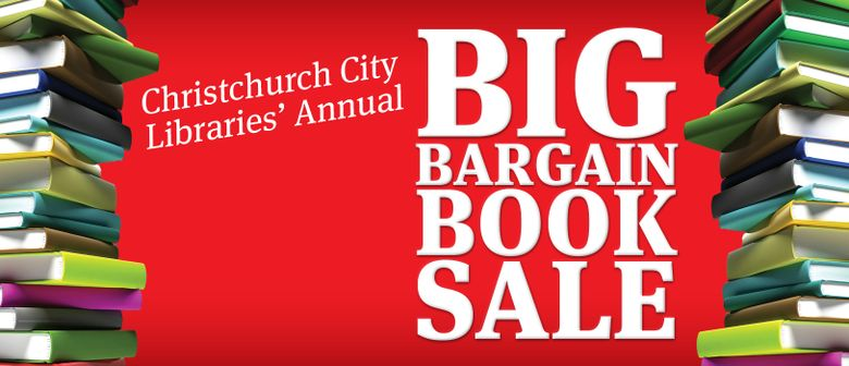 Christchurch City Libraries Big Bargain Booksale