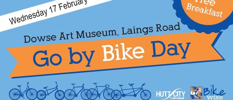 Go by Bike Day Breakfast, Lower Hutt