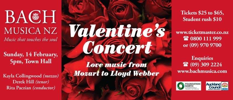 Bach Musica NZ presents: Valentine's Concert