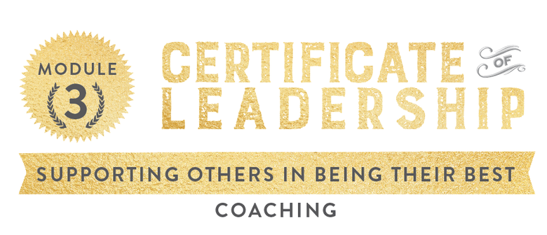 Supporting Others in Being their Best (Coaching)