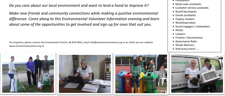 Environment Volunteer Information Evening