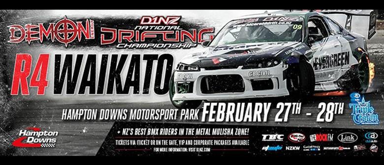 Demon Energy D1NZ Drifting Championship: Hampton Downs 2016
