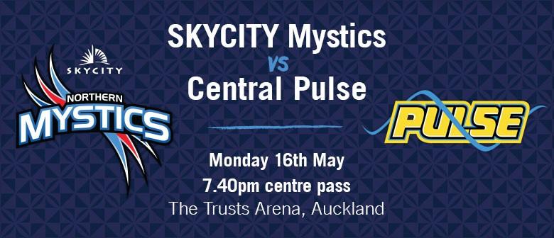SKYCITY Mystics vs Central Pulse