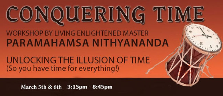 Conquering Time, Tiredness & Boredom - Weekend Workshop