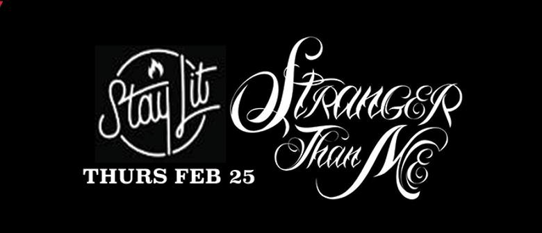 Stranger Than Me Live ft. DJ's Tommy Gee & Rocky Ponting